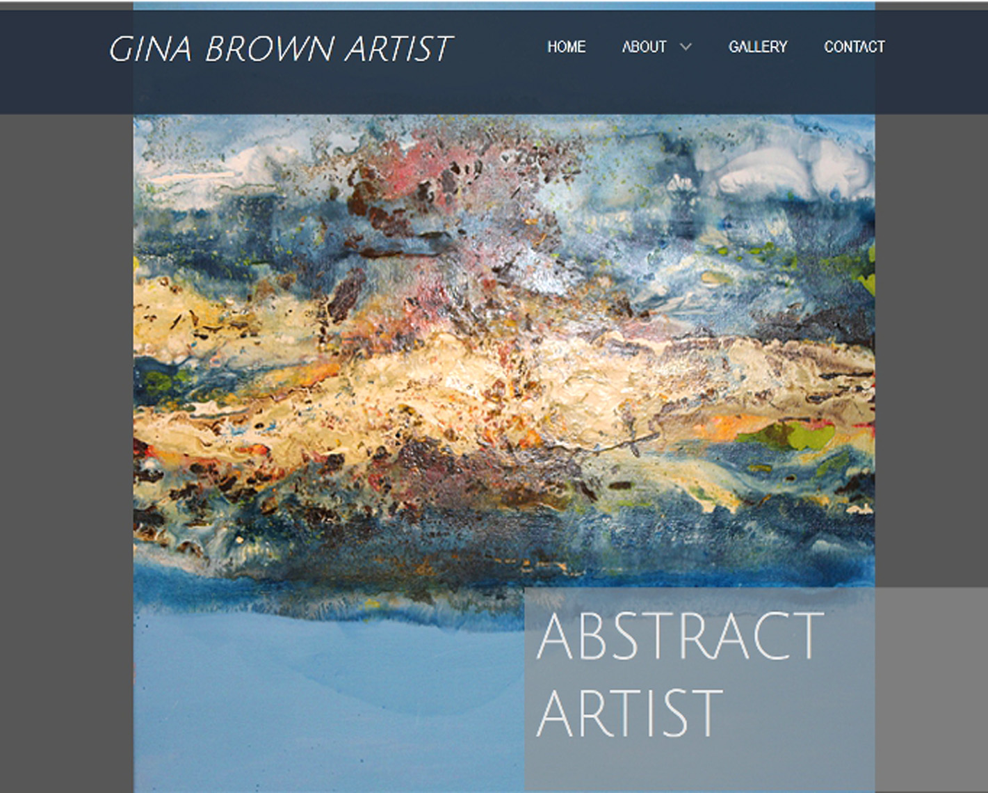 ginabrownartist.com